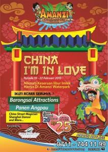 CHINA I'M IN LOVE