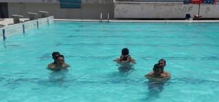 Lifeguard Training Amanzi WaterPark Dibekali Pelatihan Khusus Lifeguard Dari TNI AU Lanud Palembang