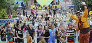 Keseruan High Season Lebaran di Amanzi WaterPark